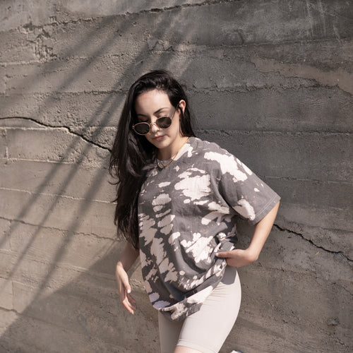 So Vintage Tie Dye Oversized Tee