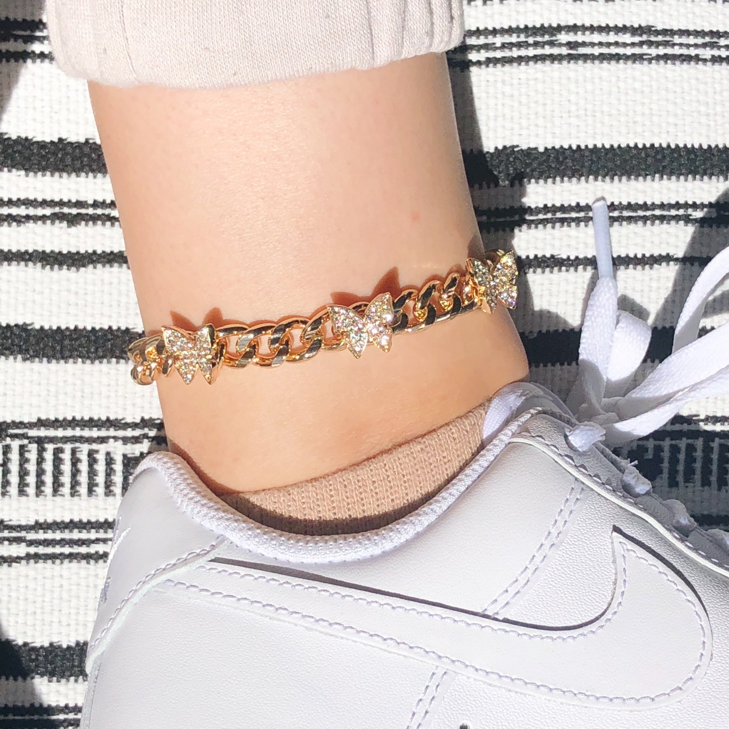 Mariposa Anklet