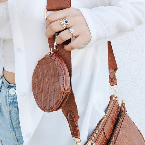 The IT Crossbody Bag - Brown
