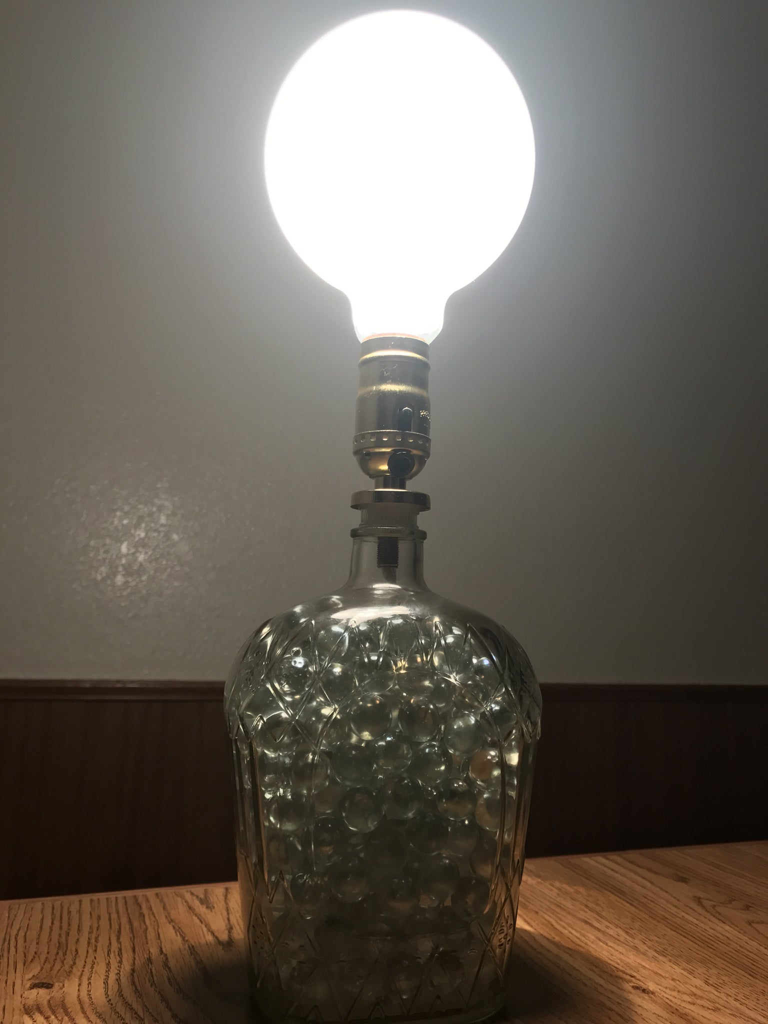 and marble table metal ernst lamp