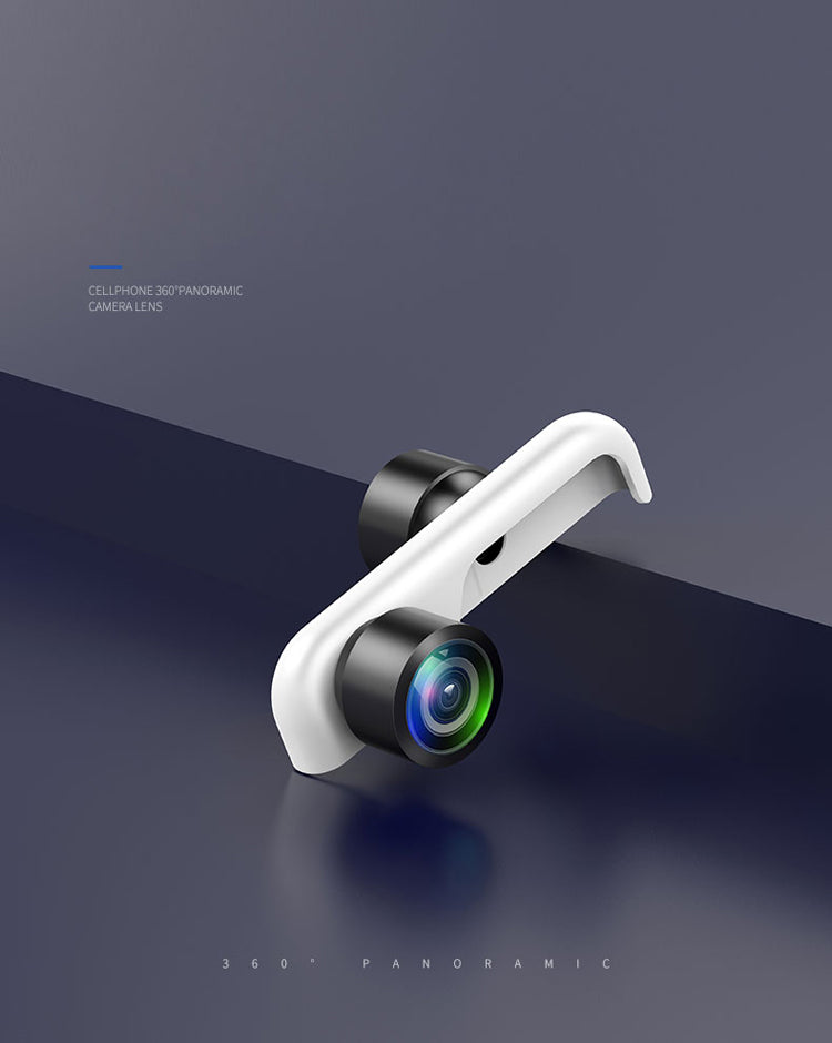 360° Panoramic Mobile Camera Lens