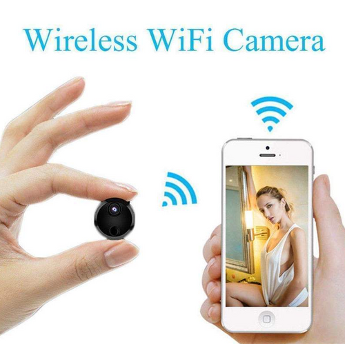 Mini WIFI Camera With Smartphone App and Night Vision