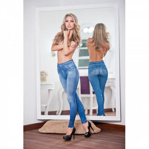Denim Shaping Leggings
