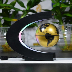 Floating Globe Lamp