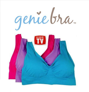Genie Comfort™ - Ultimate Support Bra (Pack of 3)