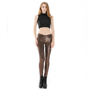 Mermaid Push Up High Waist Leggings