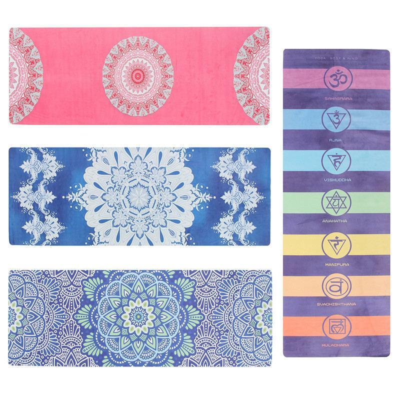 Color Print Yoga Mat