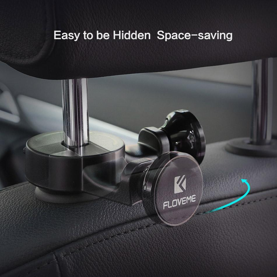 Car Backseat Magnetic Phone Holder