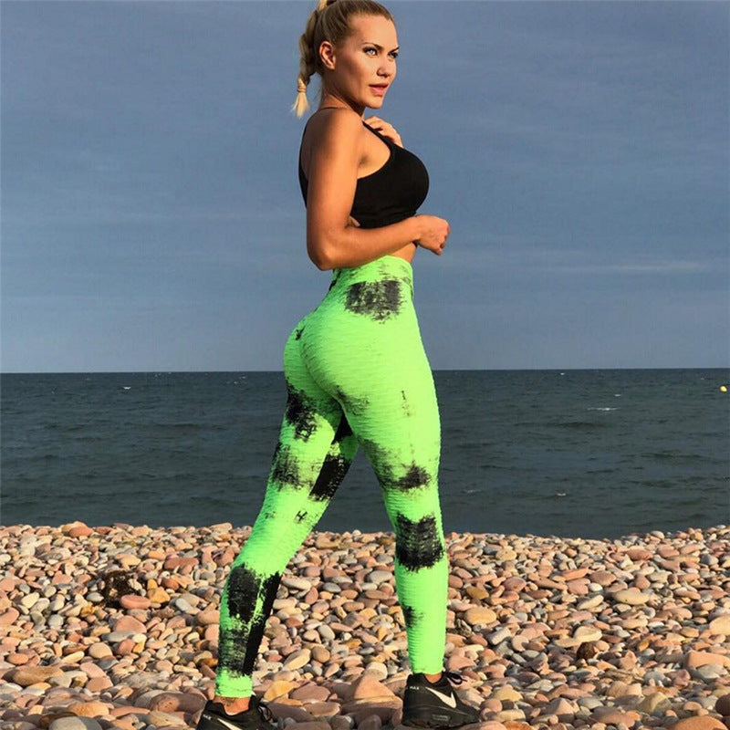 To-Dye-For 2TX Anti-Cellulite Push Up Leggings