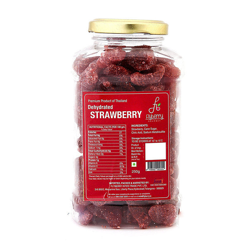 Flyberry Dehydrated Strawberry