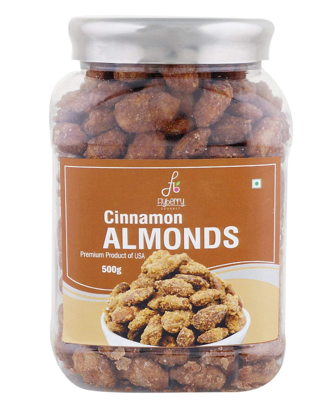 Flyberry Gourmet Cinnamon Almonds
