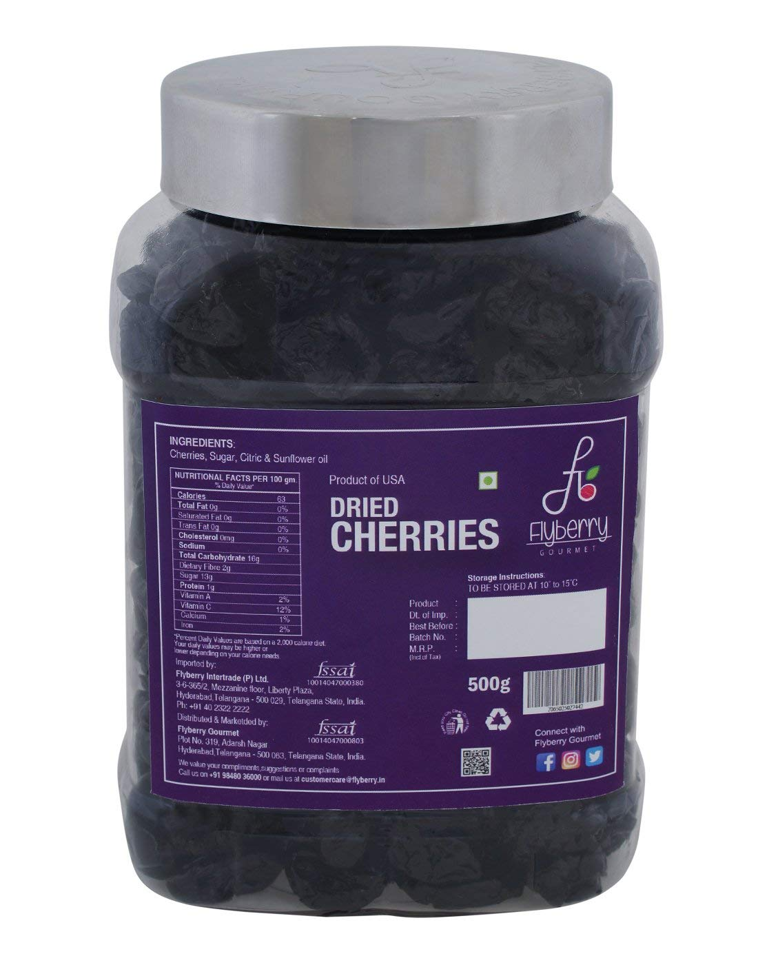 Flyberry Dried Cherries