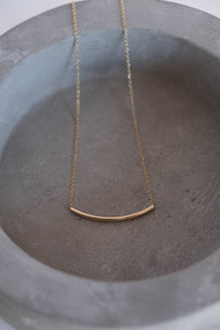 Tube necklace