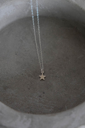 Micro Star Necklace