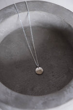 Mini Silver Coin Necklace