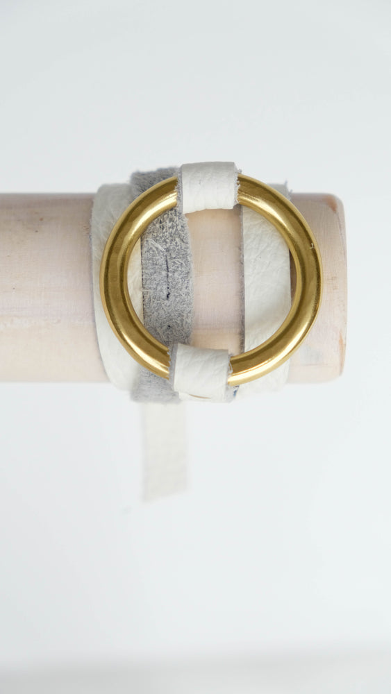 Load image into Gallery viewer, Leather wrap Nolen bracelet