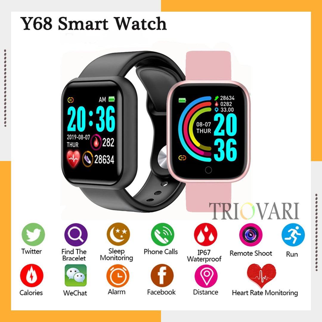 Smart Watch Available in Three Colors