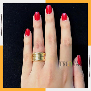Spring Gold Color Ring