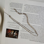 Load image into Gallery viewer, Real 925 Sterling Silver Asymmetric Chic Choker