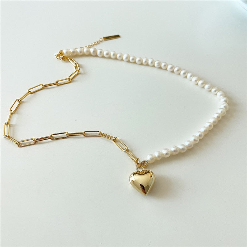 Real 925 Sterling Silver Freshwater Pearl Choker