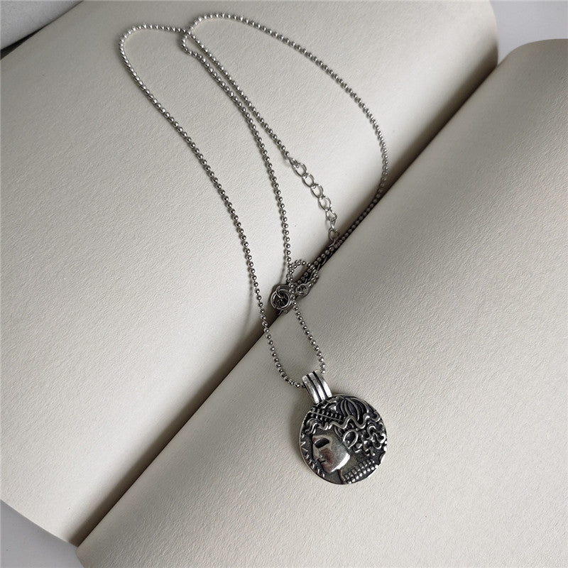 Real 925 Sterling Silver Vintage Necklace