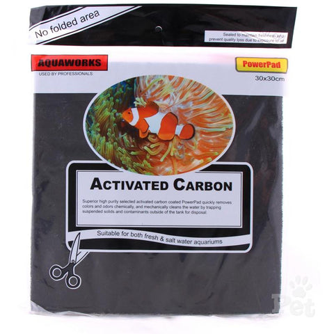 Aquaworks Activated Carbon Pad- 30x30cm