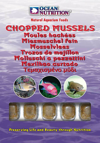 Ocean Nutrition Frozen Chopped Mussels 100g