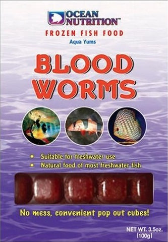 Ocean Nutrition Frozen Bloodworms 100g