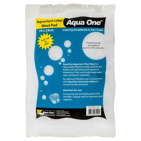 Aqua One Filter Wool Pad 200cm x 25cm