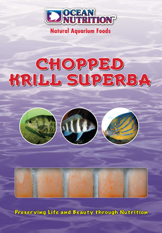 Ocean Nutrition Frozen Chopped Krill Superba 100g
