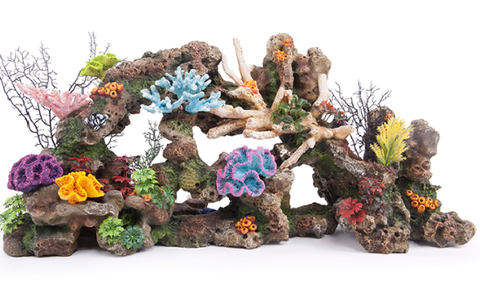 Coral Reef W/Plants & Air