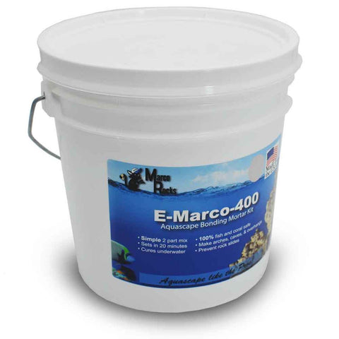 Marco Rock E-Marco 400 Reef Building Cement 5lb Pink