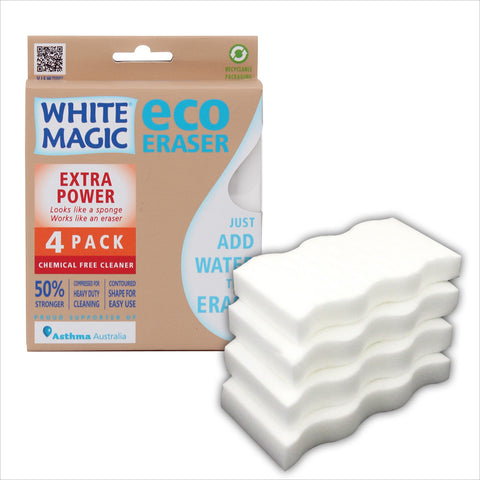 White Magic Extra Power Sponge (4 Pack)