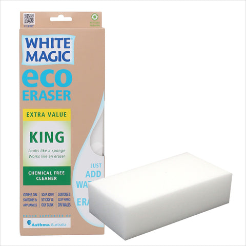 White Magic King Eraser Sponge