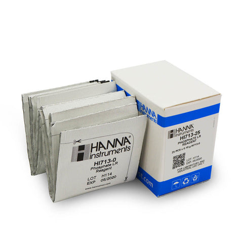 Hanna HI713-25 Reagents - Phosphate Low Range Checker®