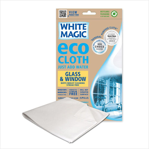 White Magic Eco Cloth Glass And Window