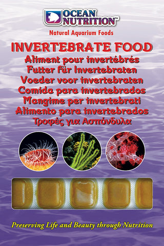 Ocean Nutrition Frozen Invertebrate Food 100g