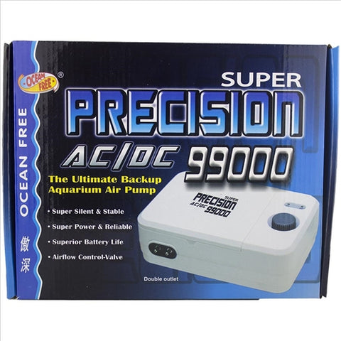 Ocean Free Super precision air pump 99000 AC/DC
