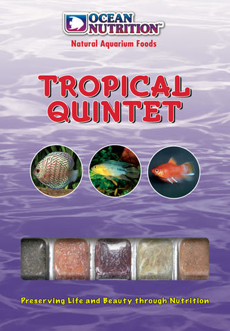 Ocean Nutrition Frozen Tropical Quintet 100g