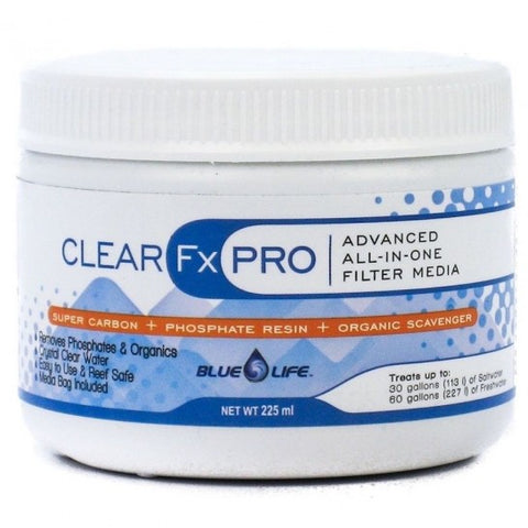 Blue Life CLEAR Fx PRO 225ml Carbon, Phosphate and Organic Remover