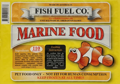 Fish Fuel Marine Diet 110g