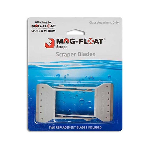 Mag Float Stainless Steel Replacement Blades Small and Long (2pc)