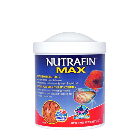 Nutrafin Max Tropical Colour Enhance Flakes