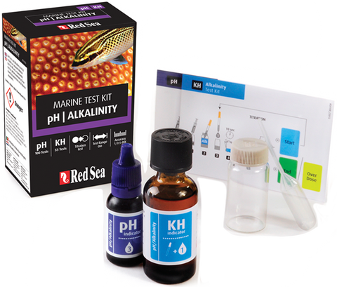 Red Sea pH/Alkalinity Marine Test Kit