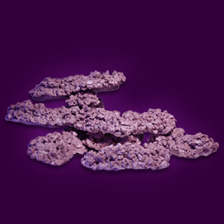 Aquaforest Synthetic Rock Purple - Price Per Kg