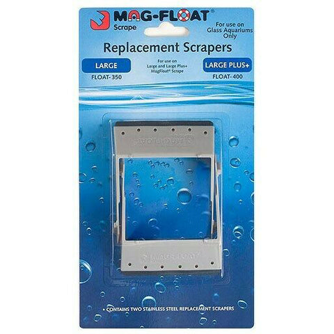 Mag Float Stainless Steel Replacement Blades Large and Large+ (2pc)