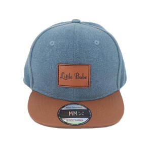 Little Babe Snapback Denim
