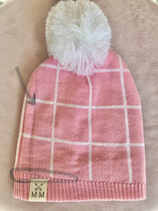 Pink Lady Beanie (Faulty Item)