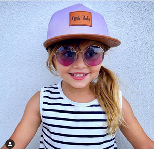 Lilac Little Babe Snapback