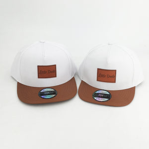 White Little Dude Snapback